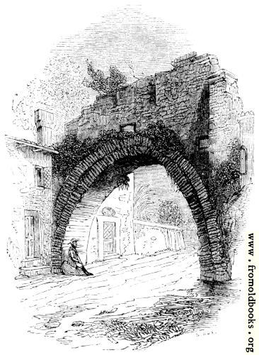 142.—Ancient Arch on Road leading into Rome.