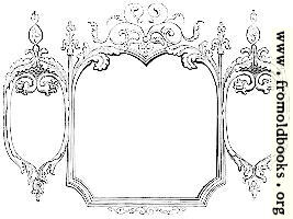 245 [detail].—Hand-drawn Victorian/rococo frame