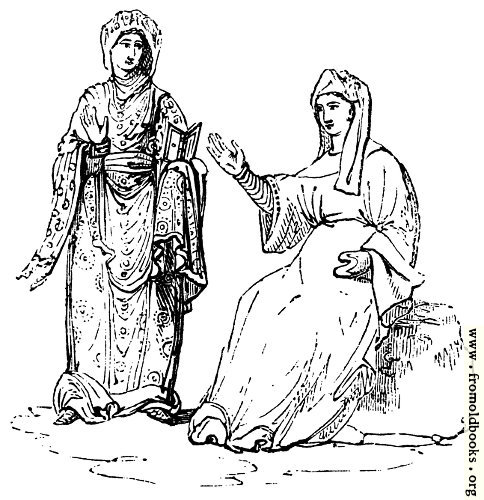 [Picture: 287.—Anglo-Saxon Females]