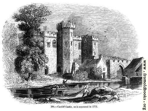 [Picture: 390.—Cardiff Castle]
