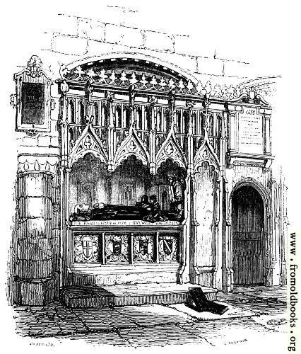 528.—Prior Rahere's Tomb.