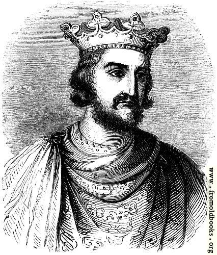 [Picture: 814.—Henry III From his Tomb in Westminster Abbey.]