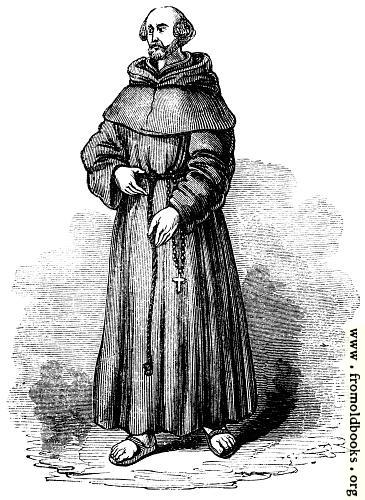 [Picture: 1028.---Franciscan, or Grey Friar]