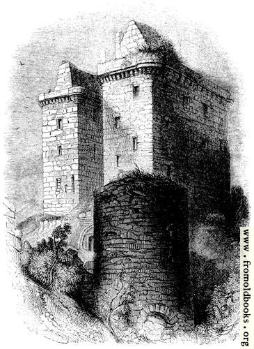 [Picture: 1273.---Present State of Borthwick Castle.]