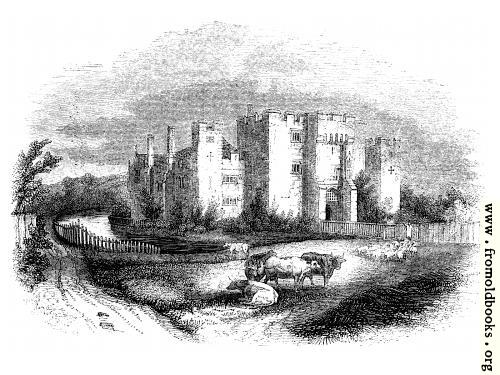 [Picture: 1423.---Hever Castle.  (From an Original Sketch)]