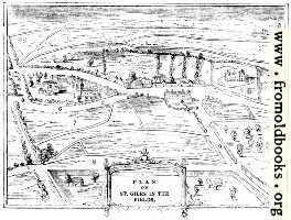 2086.—Plan of St. Giles in the Fields.