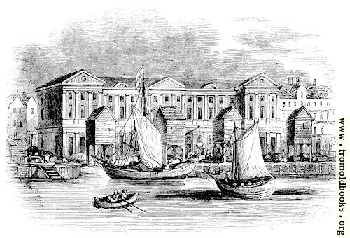 [Picture: 2088.—The Custom-House, London, as it appeared before the Great Fire. (From a Print by Hollar.)]
