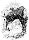 [picture: 142.---Ancient Arch on Road leading into Rome.]