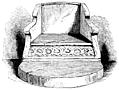 [picture: 590.---Stone Chair in the Chapter House, Durham.]
