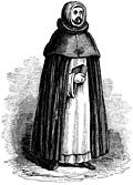 1029.Dominican, or Black Friar