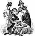 [picture: 1145.---Playing at Draughts (Harleian MS. 4431)]