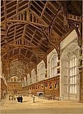 Hall of Christ Church College Oxford