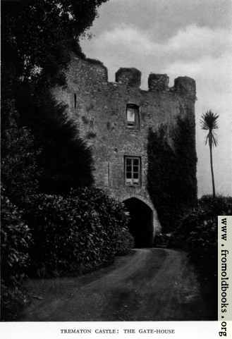 [Picture: Trematon Castle: The Gate-house]