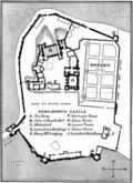 [picture: Plan of Kenilworth Castle]