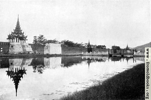 [Picture: Fort Dufferin and the moat, Mandalay]