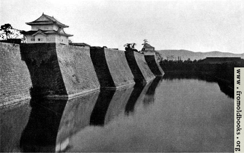 [Picture: The fort and castle at Osaka]