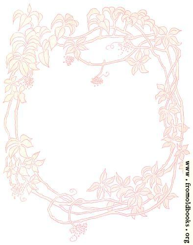 [Picture: Pink Floriated Border]