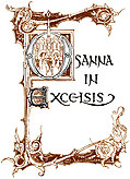 Osanna in Excelsis