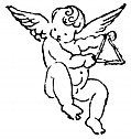 Cherub with Triangle