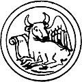[picture: Symbol of St. Luke the Evangelist]