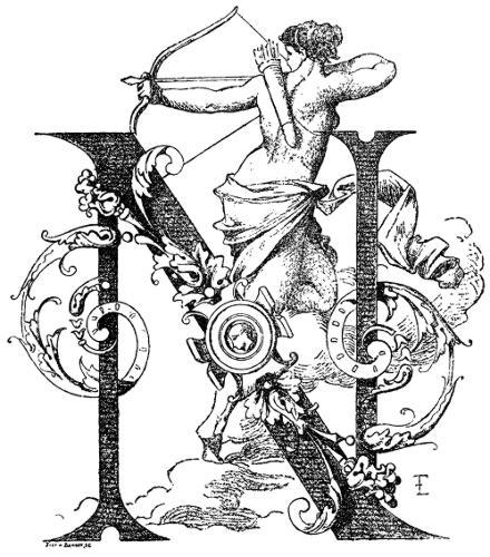 Initial Letter N by Fran ois Ehrmann