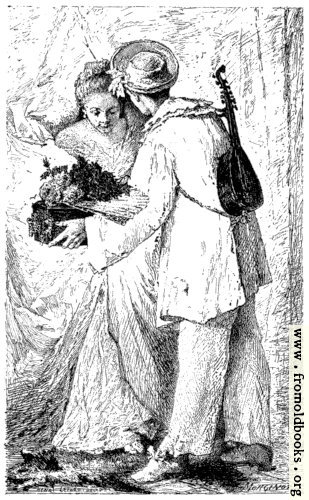[Picture: Pierrot Galant [The romantic peasant]]