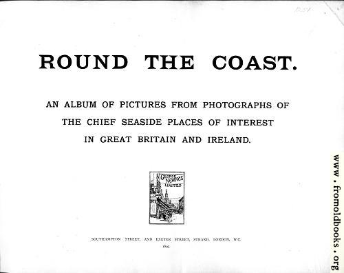 [Picture: Title Page, Round The Coast]