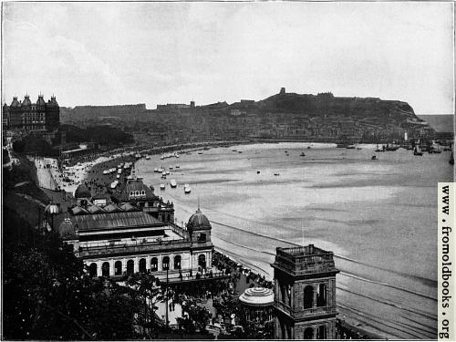 [Picture: 1.---Scarborough: General View of the South Bay]
