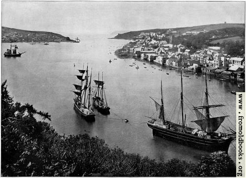 [Picture: Fowey: Entrance to the harbour.]