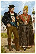 Farmer and his Wife, Ybbstal Valley