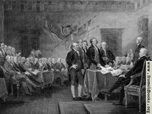 [Picture: Declaration of Independence]