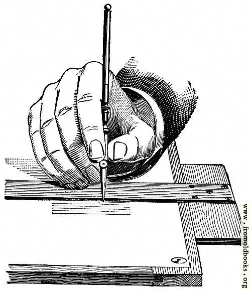 [Picture: 15.---Holding a Ruling Pen.]