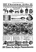 [picture: Old Advert: Christmas Gift Charms and Brooches]