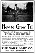 Old Advert: How to Grow Tall