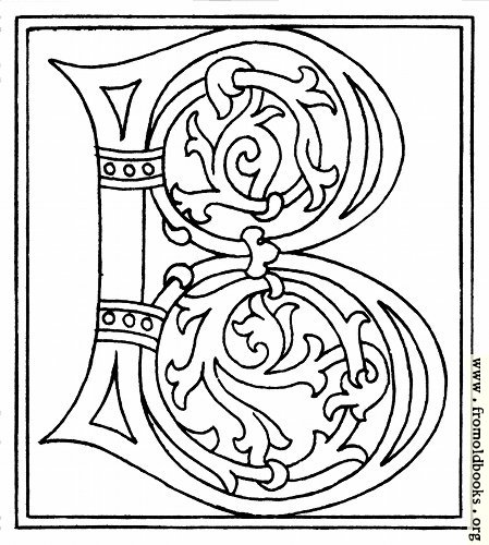 B,��� ����� B,���� ����� 065-alphabet-end-of-15th-century-letter-B-q85-449x500.jpg