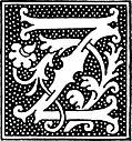 clipart: initial letter Z from beginning of the 16th Century