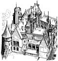 7.House of Jacques Cur at Bourges (Begun 1443)