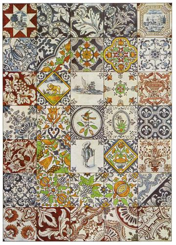104 Dutch Ceramic Tiles
