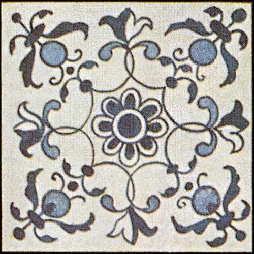 Dutch Delft Ceramic Tile 10