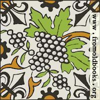 Dutch Delft ceramic tile 28, SVG version