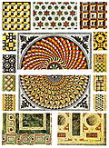 [picture: 38. Byzantine marble floor-mosaics.]