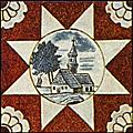 Dutch Delft ceramic tile 1