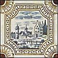 [picture: Dutch Delft ceramic tile 5]