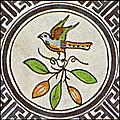 [picture: Dutch Delft ceramic tile 18]