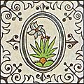 [picture: Dutch Delft ceramic tile 19]