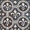 [picture: Dutch Delft ceramic tile 20]