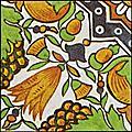[picture: Dutch Delft ceramic tile 22]