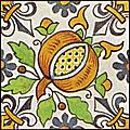 [picture: Dutch Delft ceramic tile 29]