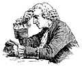 [picture: Man reading at a table]