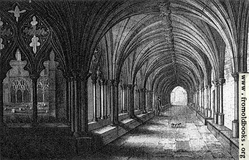 [Picture: Plate XXV. The Cloisters, Norwich Cathedral.]